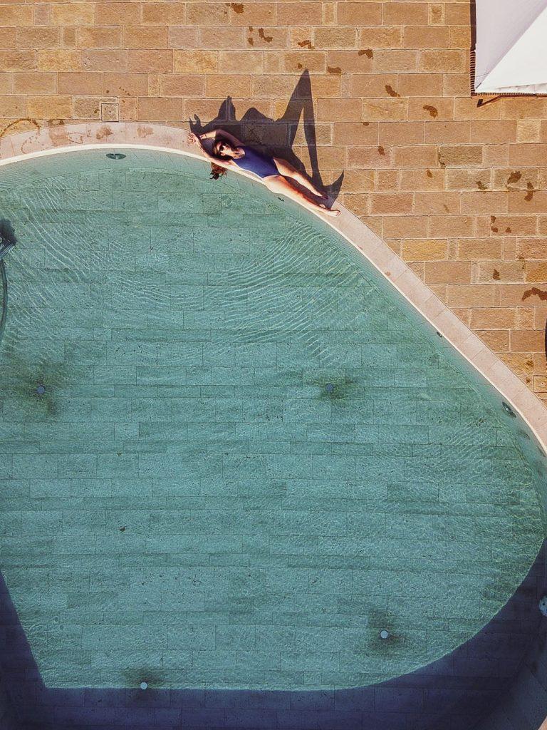 azienda Agricola Capanna - la spa e la piscina