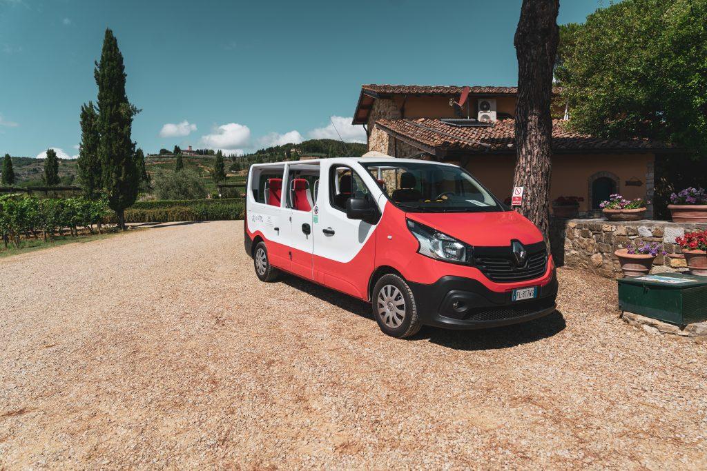 Happy in Tuscany - un van senza tettuccio