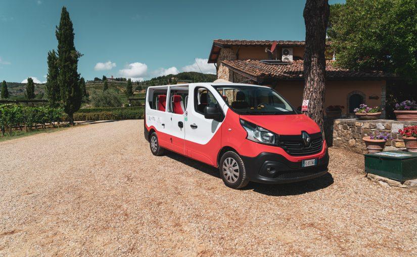 Happy in Tuscany – nel Chianti su un van aperto