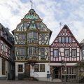 la colorata Marktplatz di Idstein