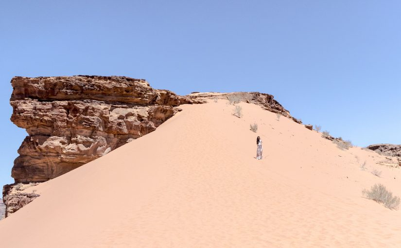 Giordania – il deserto del Wadi Rum