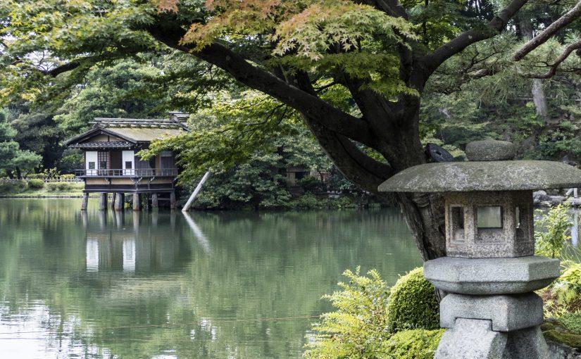 Kanazawa – il parco Kenroku-en ed il Castello