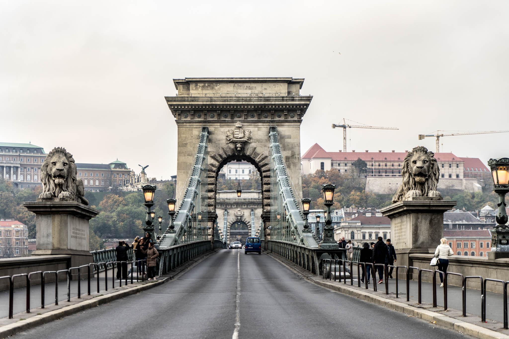 BUDAPEST - IL PONTE DELLE CATENE