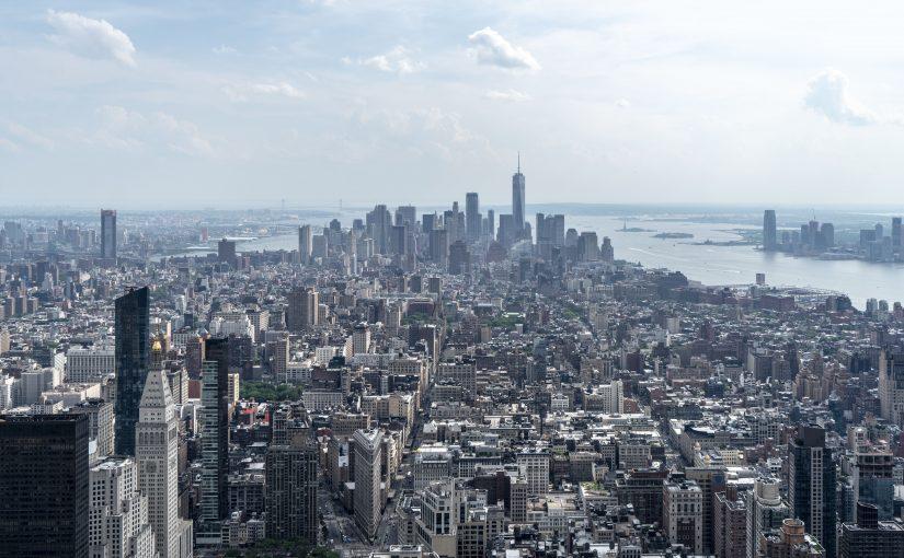 NEW YORK – LA VISTA DALL'EMPIRE STATE BUILDING