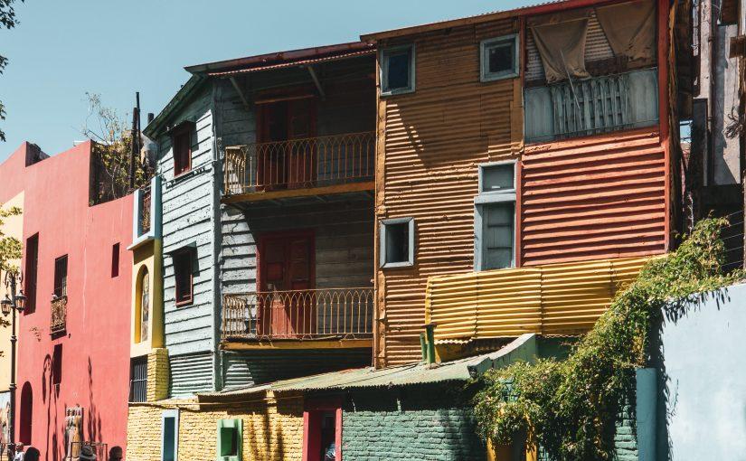 Buenos Aires – La Boca il quartiere dai colori vivaci